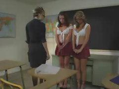 Mature Teacher And Her Bad Schoolgirls.F70