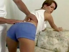 Teen Brunette Orders Massage...F70