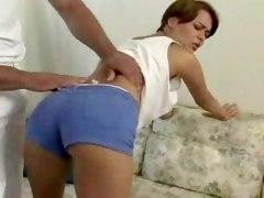 Teen Brunette Orders Massage...F70
