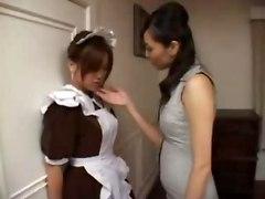 Horny Japanese Maid