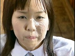 Japan Girl Bukkake