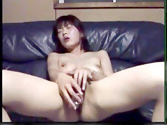 Asian Amateur Masturbates With A Small Bottle..rdl