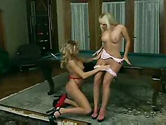 Jana And Makenzie Playing