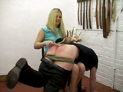 Spanking By Miss Harding