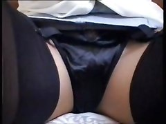 Black Panties & Stockings