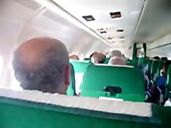 Masturbating In Alitalia Plane
