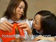 Milky Asian Lesbians 1