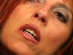 Slim Mature Bitch Gets Cum On Her Face