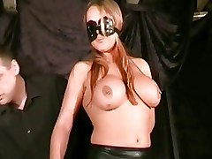 Kinky Latex Fetish Slavegirls Blindfolded Boobies