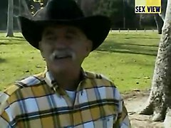 Older Younger Interracial Cowboys