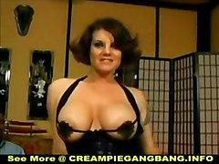White Trash Creampie Gangbang
