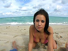 Beach Hottie Ready To Get Fucked