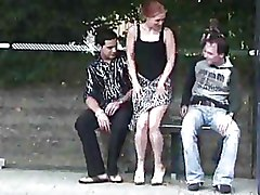 Bus Stop Threesome