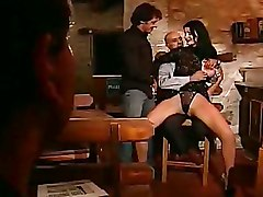 Naturally Big Titty Slut In Body Stocking Gets A Hot Threesome