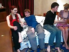 Amazing Teens Get Gaped Hard By Slim Boys