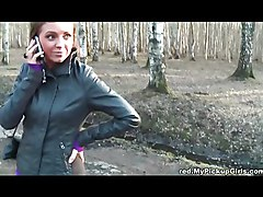 Cutie In The Russian Woods
