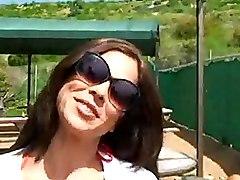 2 Hot Latin Babes Share 1 Cock