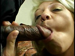 Cock Hungry Blondie Threesome  2
