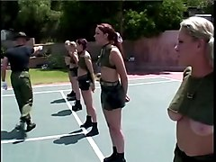 Military Hotties At Bootcamp