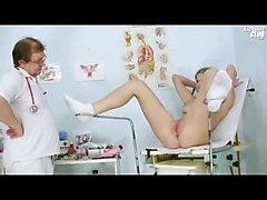 Super Hot Teen Jenny At The Doctor