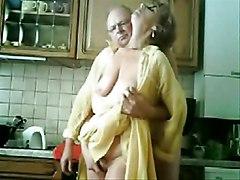 Mum And Dad Having Fun In The Kichen  Stolen Video