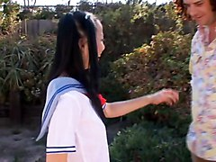 Japanese School Girls 1 Of 5