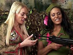 British Army Sluts In A Ffm Threesome