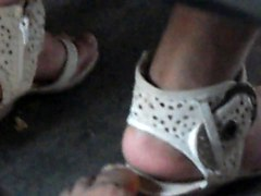 New Footsie With Lady In Bus