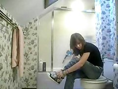 Hidden Cam Filmed My Sister In Bathroom