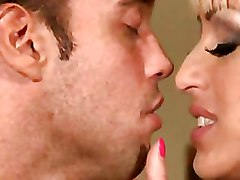 Blonde Woman Cheating Her Husband With The Guy