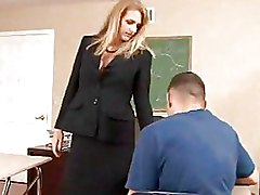 Teacher Fucks Student With Shaved Pussy In The Classroom