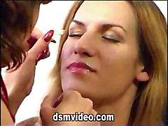 Lesbian Kisses Clip