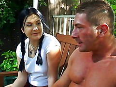 Renee Sucks Big Cock