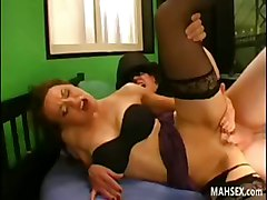 Beautiful And Nice Brunette Babe Having Fun With Dicks