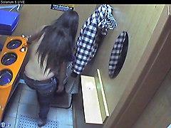 Voyeur Webcam Nude Girl In Solarium Part18
