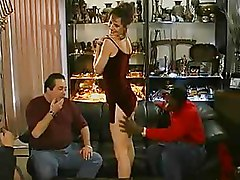 Cuckold Husbands Watch Their Cougar Wives In Interracial Xxx