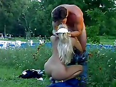 Blonde Maids Have Outdoor Hardcore Sex