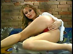 Slut Massages Her Breasts And Pussy 1
