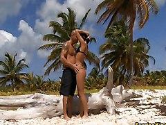 Natalli Is A Damn Hot Beach Babe