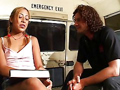 School Bus Teen Gets Fucked