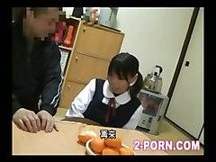 Teacher And Cute Schoolgirl 001