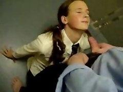 Schoolgirl Facial