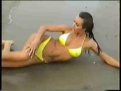 Naked On The Beach 1