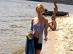 Blonde Nude Beach