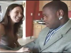 Brunette White Housewife With Her Son&039;s Black Teacher - Ir