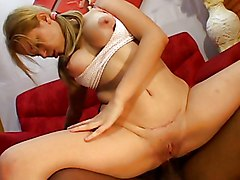 Blond Chick Takes The Cock In Her Vagina