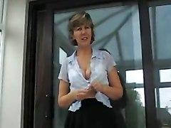 Sara  Cleaning Windows