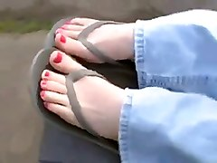 Sexy Feets In The Park