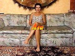 Jenny  Casting In The Sofa