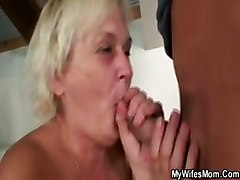 Old Bag Gets Banged By Son In Law